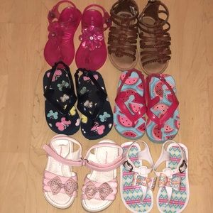 Other - Toddler Girl Sandals size 7/8!